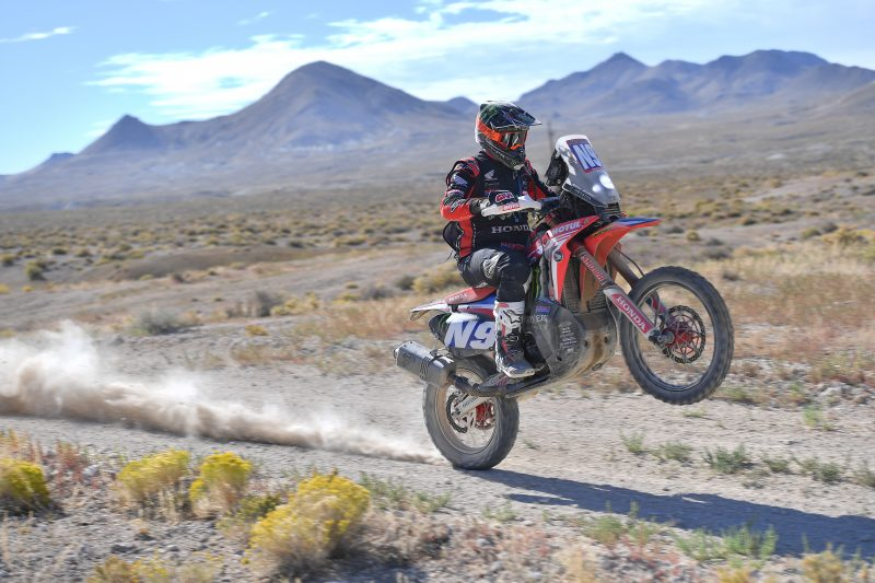 Ricky Brabec flies across the Nevada desert to claim a third Vegas To Reno win