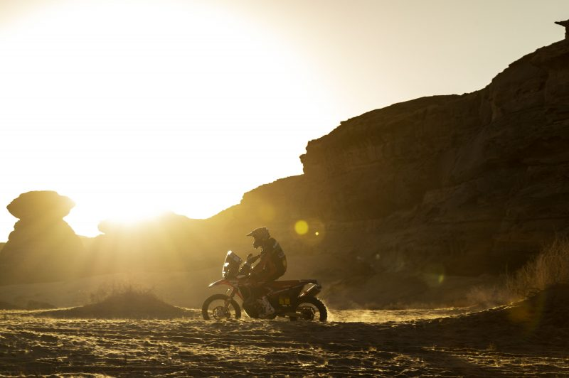 Monster Energy Honda reconvene for the Andalucia Rally