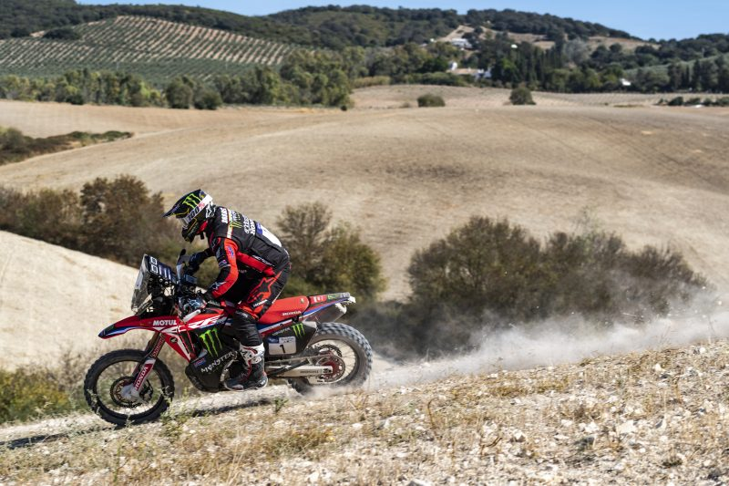 Monster Energy Honda Team kick off the Andalucia Rally