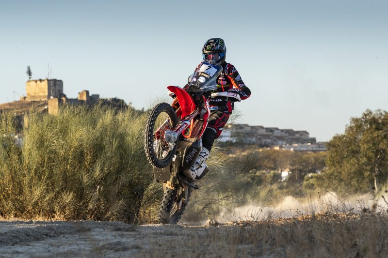 One-two for Monster Energy Honda Team in the first stage