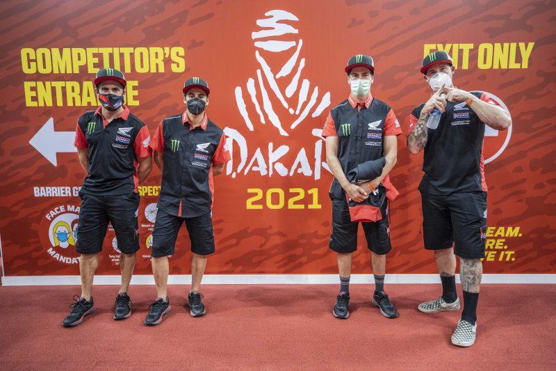 Dakar 2021: Monster Energy Honda Team ready to rumble. Let the action commence!