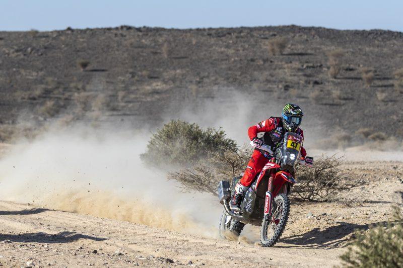 Segundo lugar de Kevin Benavides en la primera etapa del Dakar