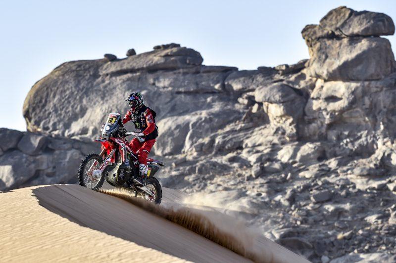 25ª victoria de etapa y liderato en el Dakar para Joan Barreda