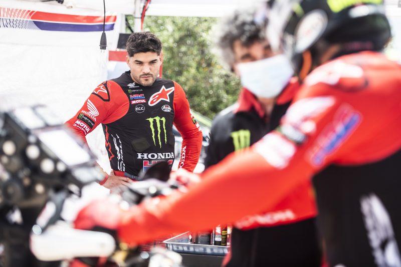 Monster Energy Honda Team ready to start in the Andalucía Rally