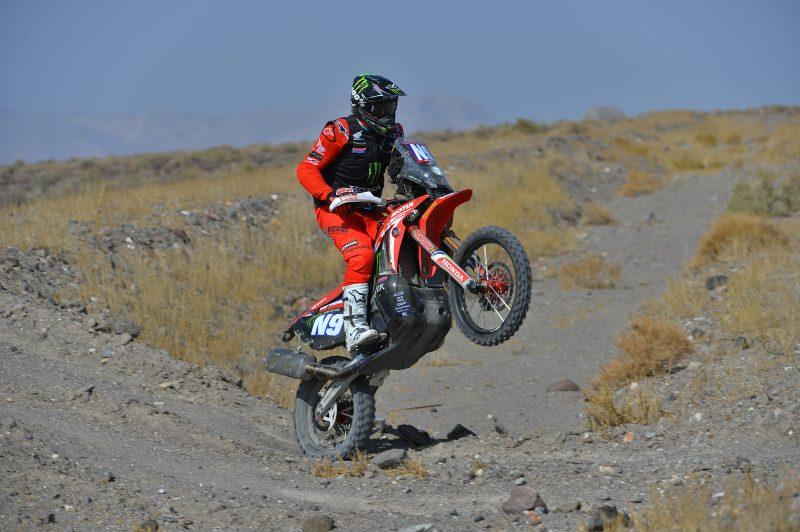 Brabec finaliza segundo en una dura Vegas to Reno
