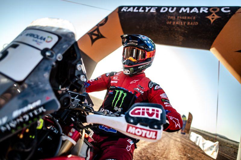 El Monster Energy Honda Team se reúne de nuevo para disputar el Rally de Marruecos