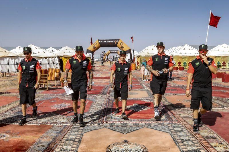 Monster Energy Honda Team all set to start the Rallye du Maroc