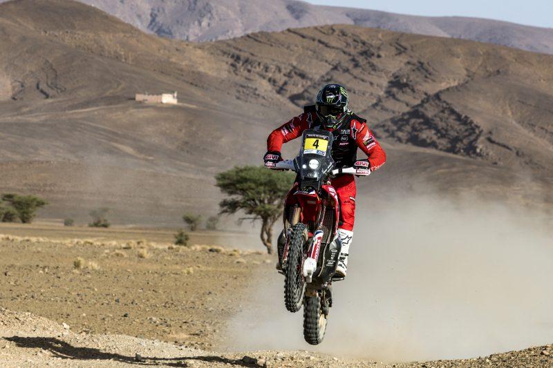 Brabec vuela en el ecuador del Rally de Marruecos