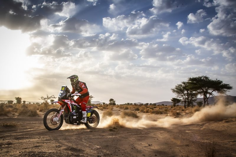Quintanilla and Brabec aim at the Rallye du Maroc podium for tomorrow's final stage